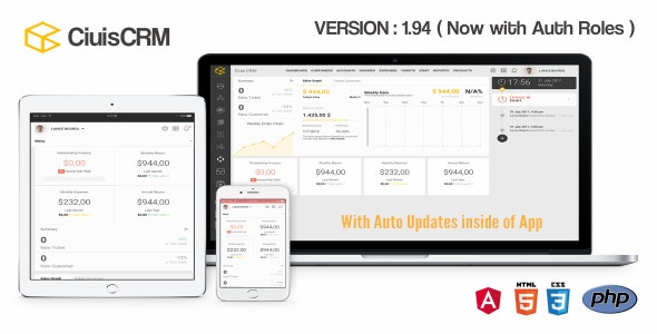 CiuisCRM v1.95.1 – nulled