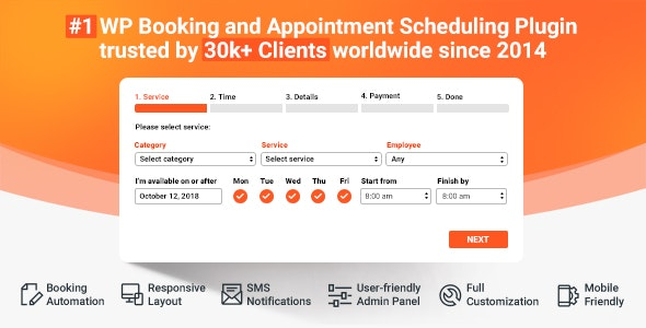 Bookly Booking Plugin v18.3 + Addons NULLED