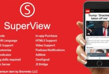 SuperView v3.0.0 – WebView App for iOS with Push Notification, AdMob, In-app Purchase