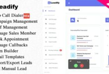 Leadify v2.0.0 – Lead & Call Center CRM – nulled