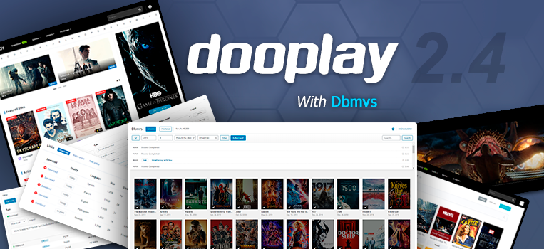 DOOPLAY V2.4.1 – WORDPRESS THEME FOR MOVIES AND TVSHOWS