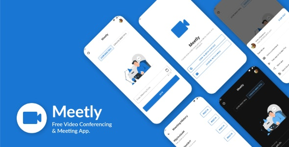 Meetly v1.10 – Free Video Conferencing & Meeting App