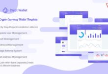 CryptWallet – Crypto Currency Web Wallet Pro