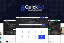 Quickad Classified v9.1 – Classified Ads CMS PHP Script – nulled