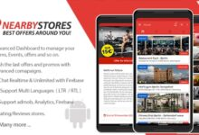 NearbyStores Android v1.8.0 – Offers, Events & Chat Realtime + Firebase – nulled