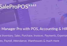 SalePro v3.3.3 – Inventory Management System with POS, HRM, Accounting – nulled