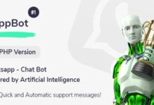 wappBot v1.0 – Chat Bot Powered by Artificial Intelligence #1 [PHP Version]