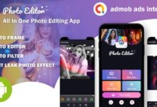 Photo Editor v1.0 – All In One Photo Editing App With Admob Ads