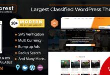 AdForest v4.3.7 – Classified Ads WordPress Theme NULLED
