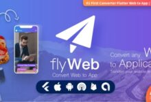 """FlyWeb v1.3 – """"convert"""" the site into an application on Android and iOS"""