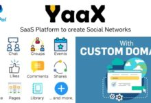 YaaX v1.2.5 – SaaS platform to create social networks – With Custom Domains – nulled