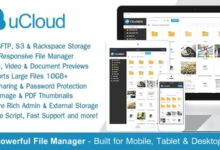 uCloud v2.0.1 – File Hosting Script – Securely Manage, Preview & Share Your Files
