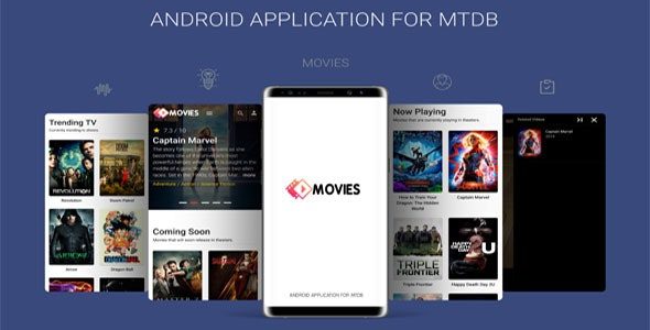 Android Application For MTDB v2.0 – Ultimate Movie&TV Database